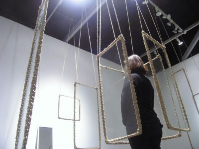 Installation and performance by Mariel Carranza. Arena 1 Gallery. Santa Monica (see MI #17)